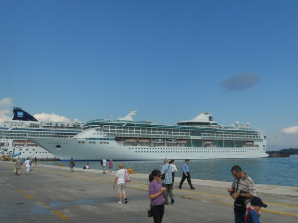 Our ship, the Splendour of the Seas