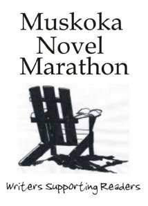 Muskoka Novel Marathon donation page - just click on the pic